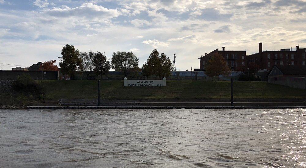Riverfront Park: 28 Main St, Point Pleasant, WV