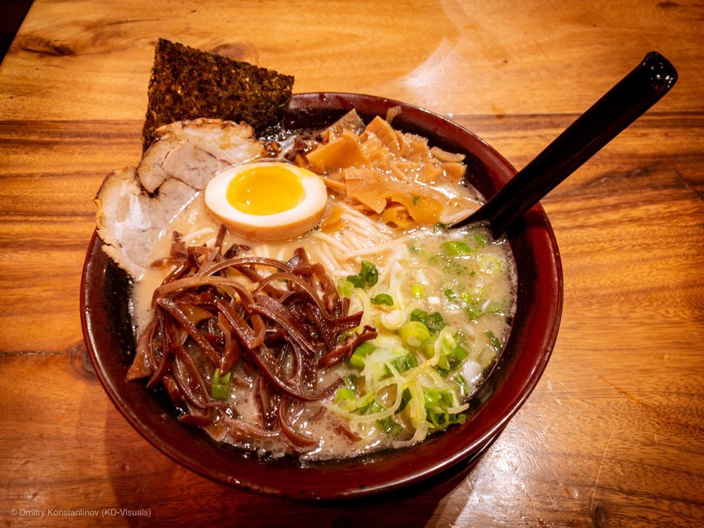 Food from Fukuryu Ramen