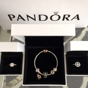 Photo of The Pandora Store - Mission Viejo, CA, United States. My haul during the Spend More & Save More event. So in love with my first Pandora charm bracelet