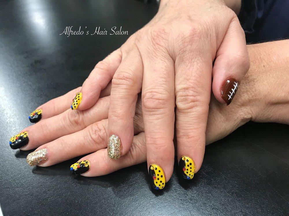 Pittsburgh Steelers Nail Art Yelp