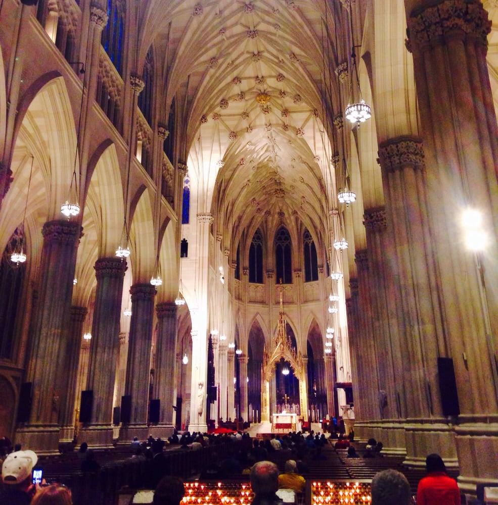 St. Patrick's Cathedral - New York, NY, United States. So amazing inside