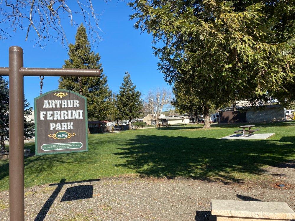 Arthur Ferrini Park: 267-299 Bell St, Los Alamos, CA
