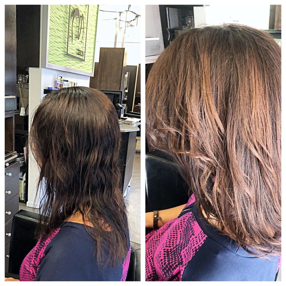 Light Brown Hair Color And Natural Highlights Yelp