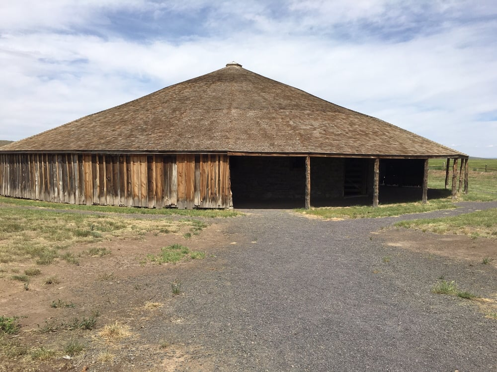 Round Barn Visitor Center: 91555 Lava Bed Rd, Diamond, OR