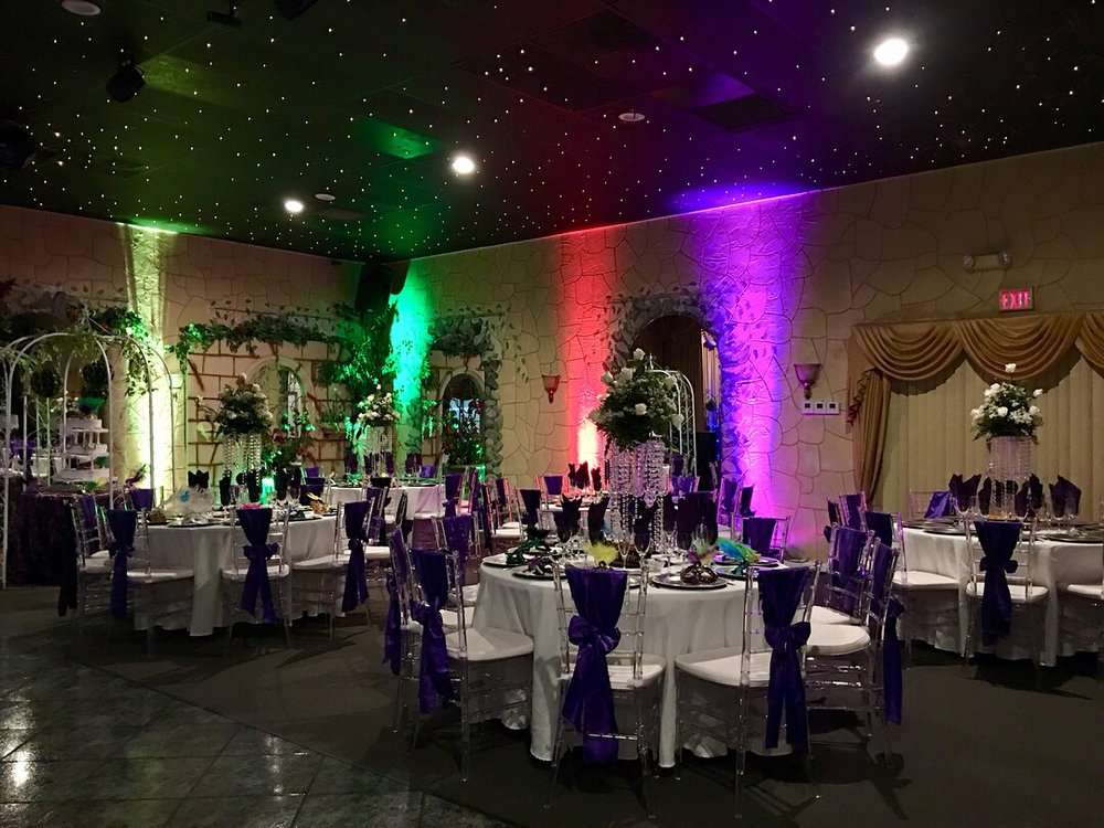 Mardi Gras Themed Wedding Yelp Photo Of Miami Banquet Hall Fl United States