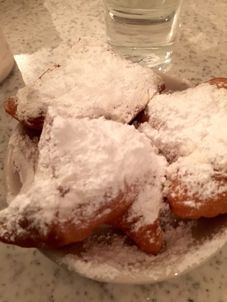 Photo of Café Du Monde - New Orleans, LA, United States. Powered sugar. With fried dough added ($2.42, cash only)