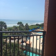 Dining And Photo Of Oceanique Resort Indian Harbour Beach Fl United States