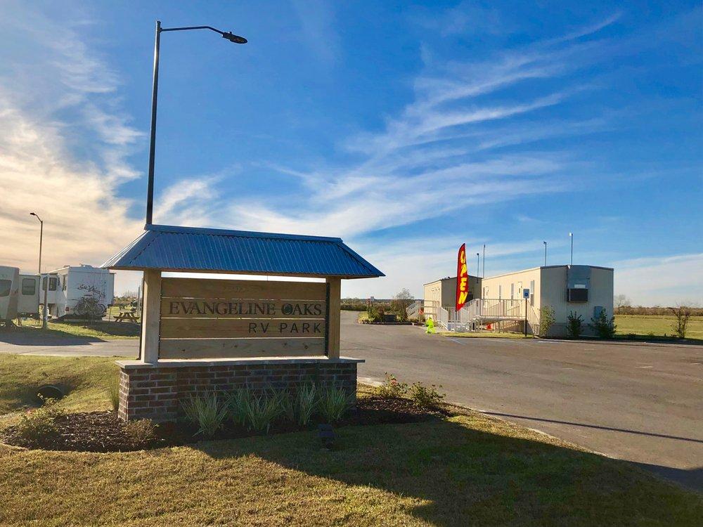 Evangeline Oaks RV Park: 21125 Louisiana Cotton Dr, Iowa, LA
