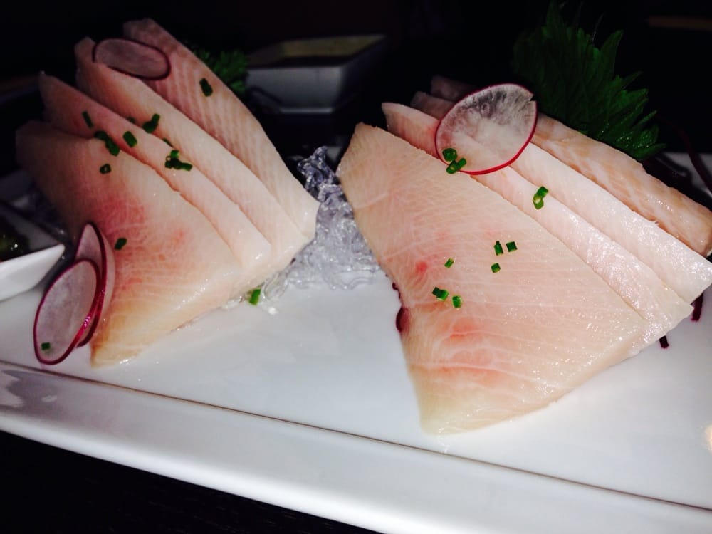 Yellowtail Belly Sushi Two orders of y...