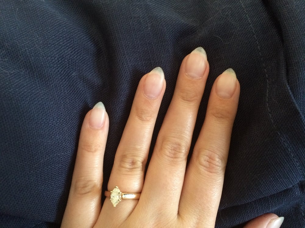 Photo Of Spa Pro Nails Georgetown Tx United States Clear Almond Shaped