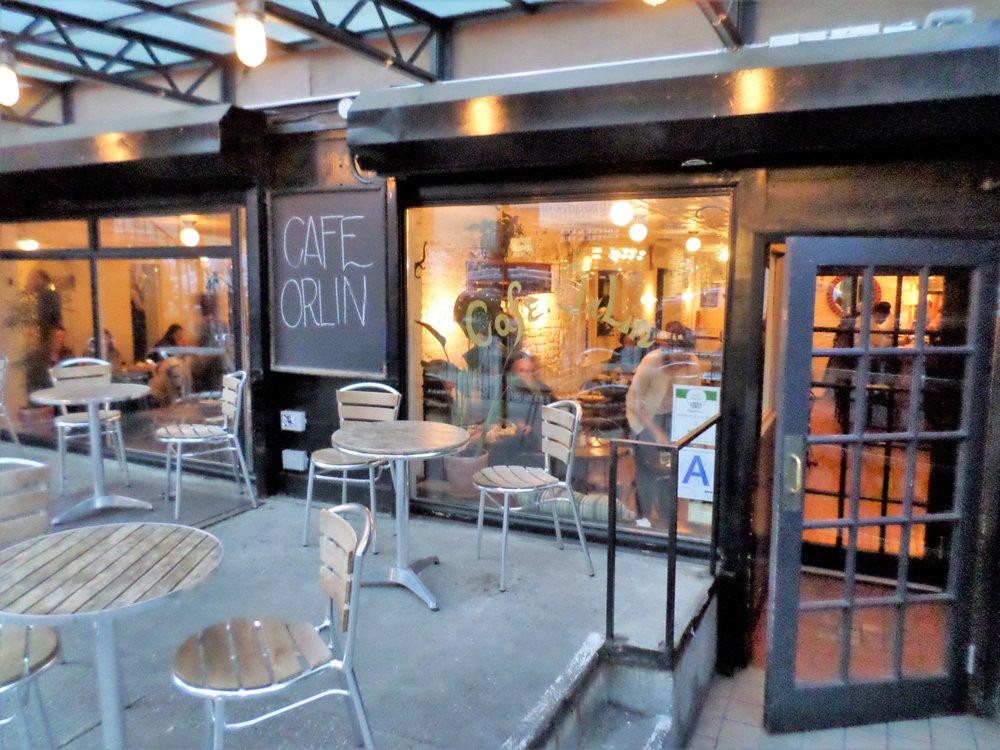 Cafe Orlin New York Address