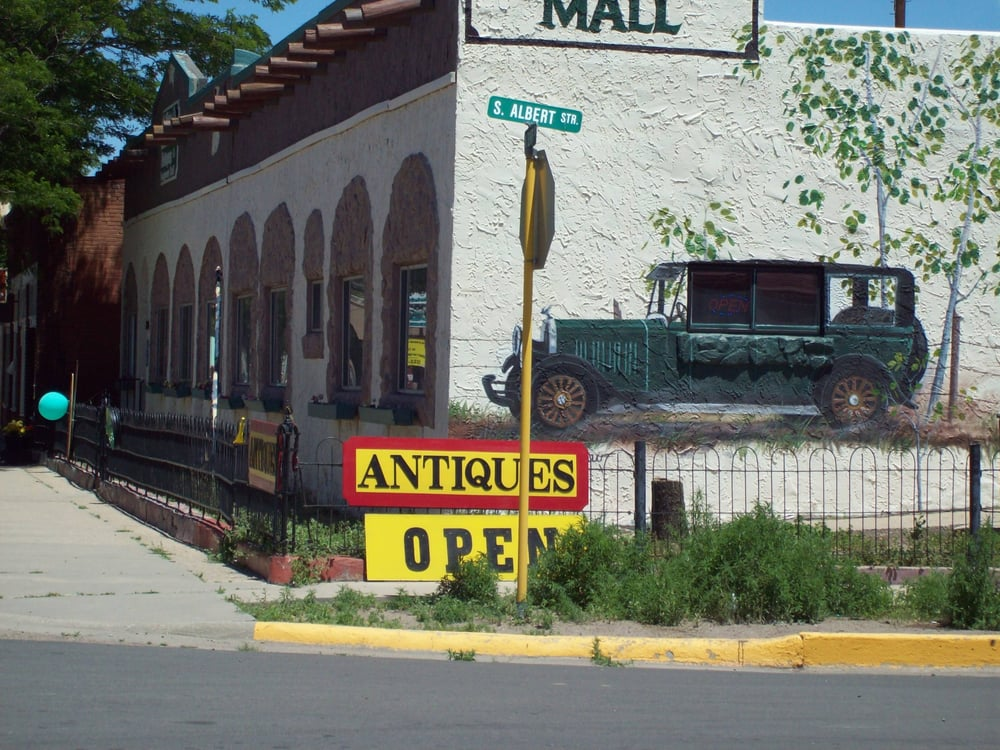 The Time Travelers Antique Mall: 135 West 7th St, Walsenburg, CO