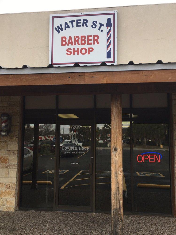 Water St Barber Shop: 209 W Water St, Kerrville, TX