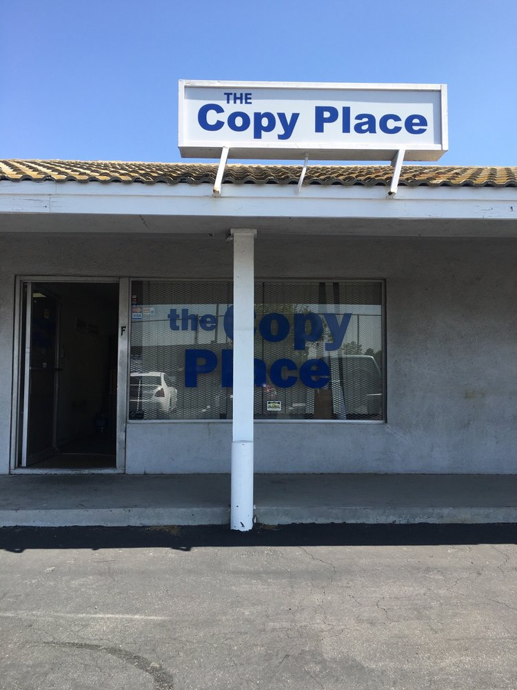 The Copy Place: 11600 Paramount Blvd, Downey, CA