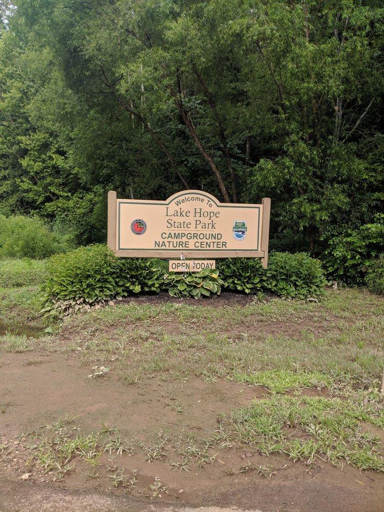 Lake Hope State Park: 2331 State Rt 278, Zaleski, OH