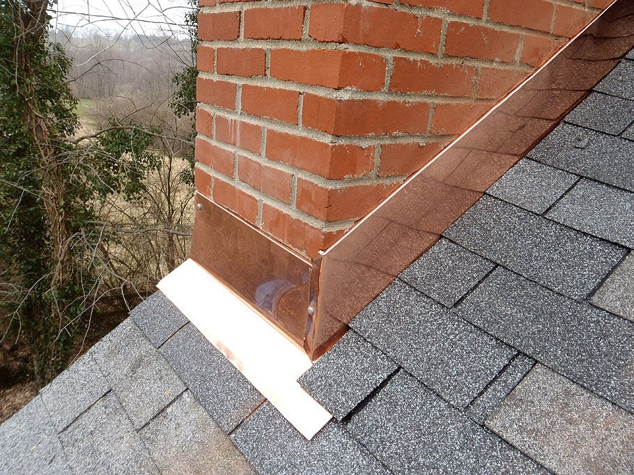 Proper Counter Flashing For A Brick Chimney Yelp