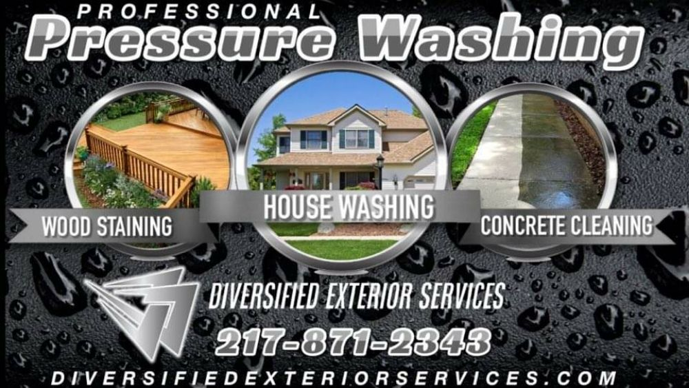 Diversified Exterior Services: 1227 State Route 121, Lincoln, IL