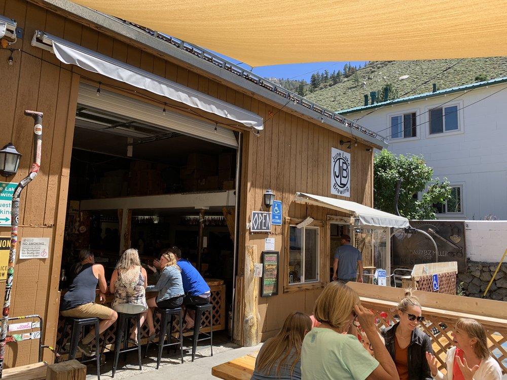 June Lake Brewing: 131 S Crawford Ave, June Lake, CA
