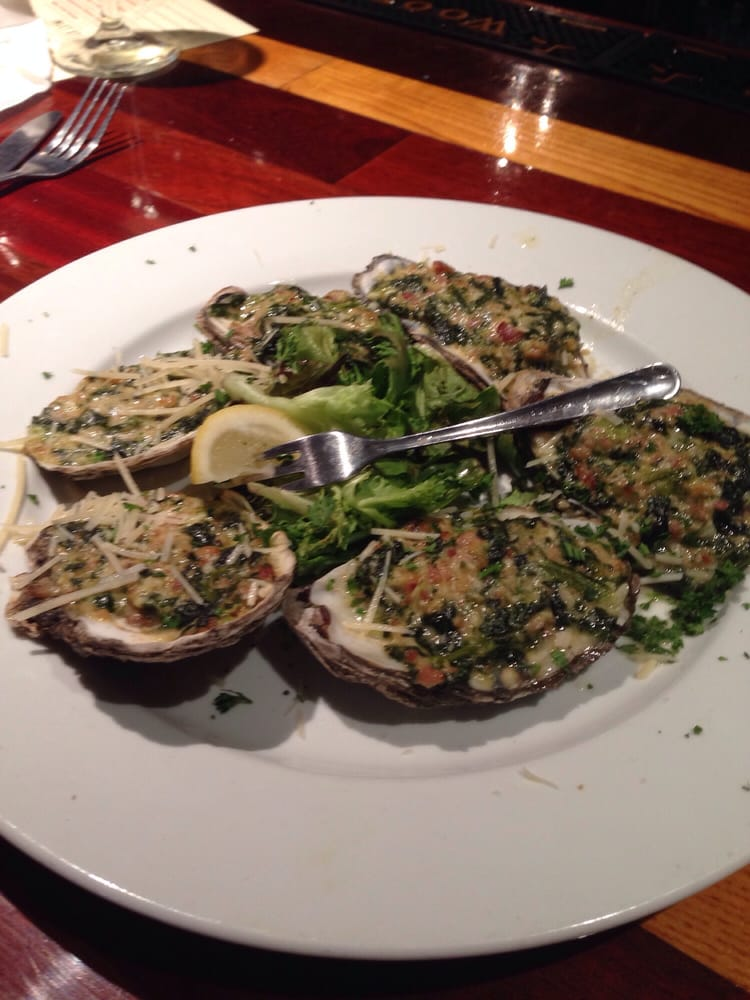 Oysters rockefeller yelp for Hot fish club murrells inlet