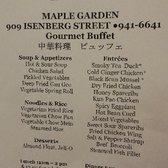Foto Zu Maple Garden   Honolulu, HI, Vereinigte Staaten. Buffet Menu And  Pricing