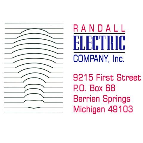 Randall Electric Company: 9215 1st St, Berrien Springs, MI