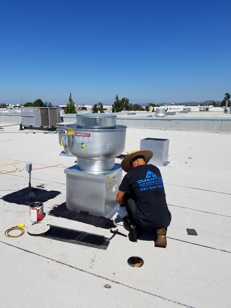 Commercial exhaust fan installation for Expert Assembly - Yelp