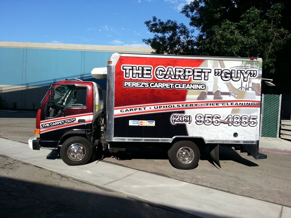 Carpet Cleaning Vehicle Wraps Done By The Specialist At