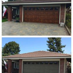 Photo Of Faux Painted Garage Doors   Carlsbad, CA, United States ...