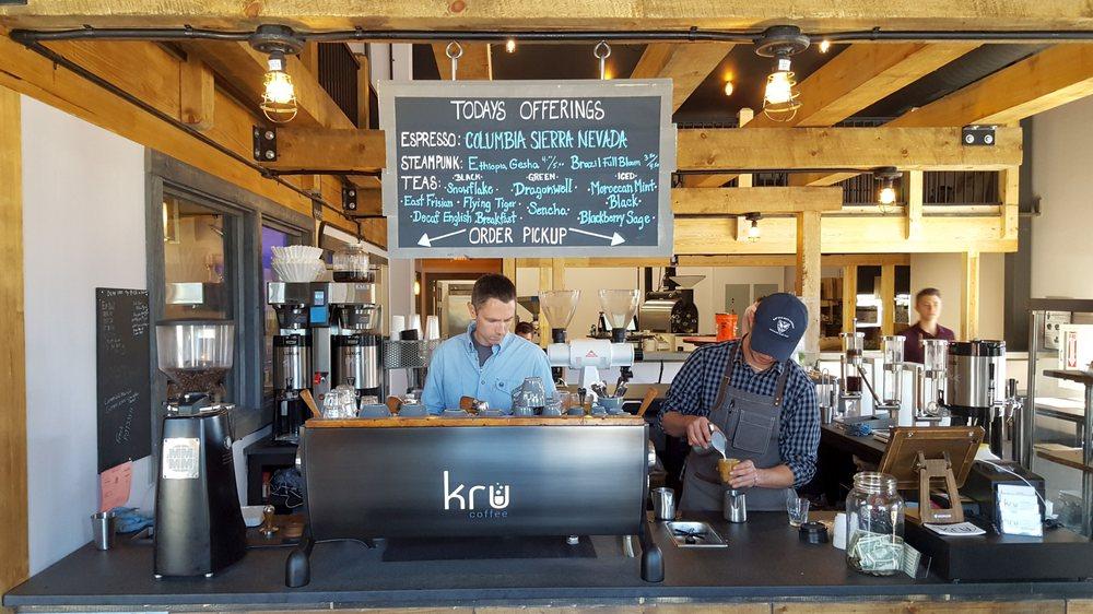 Social Spots from Kru Coffee