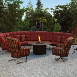 Patio Furniture With Fireplace.Yard Art Patio Fireplace New 18 Photos Furniture Stores