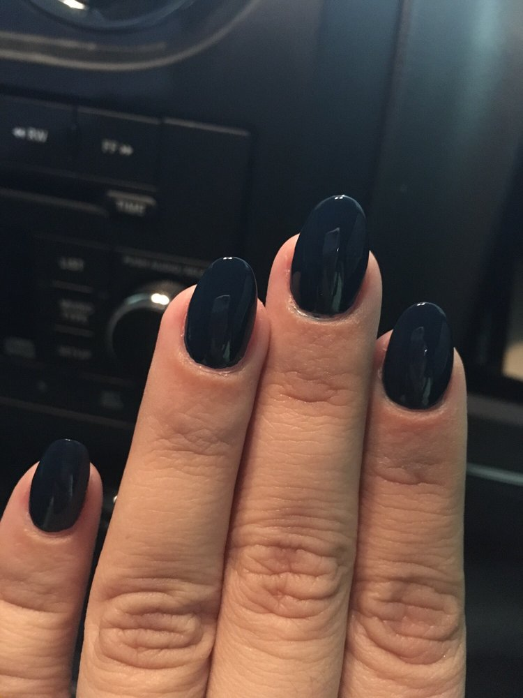 Every time I get my acrylic nails filled, they\'re \