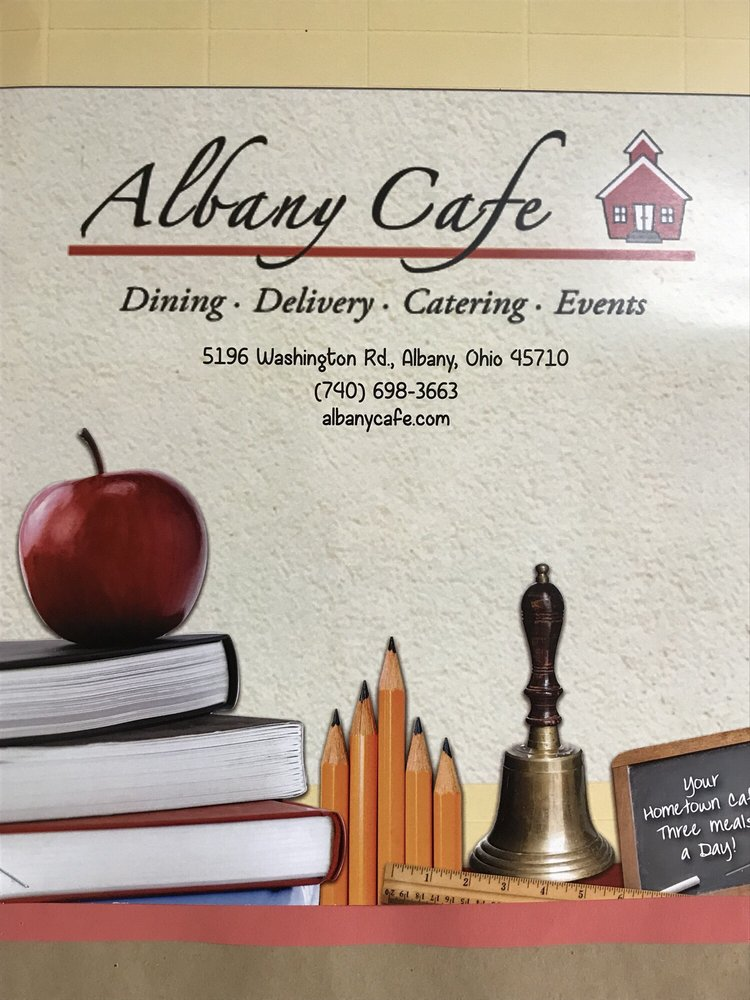 Albany cafe: 5196 Washington Rd, Albany, OH
