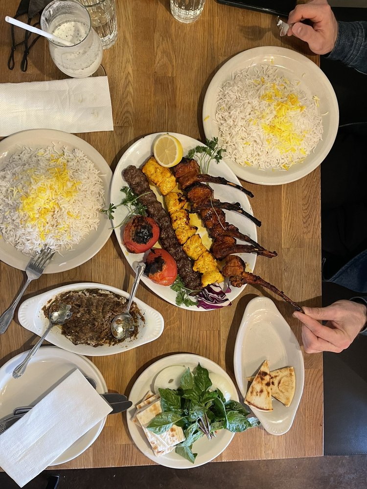 Food from Bella Balducci's Mediterranean Cuisine