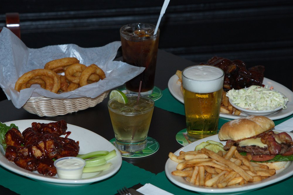 Food from Ebenezer's Bar & Grill
