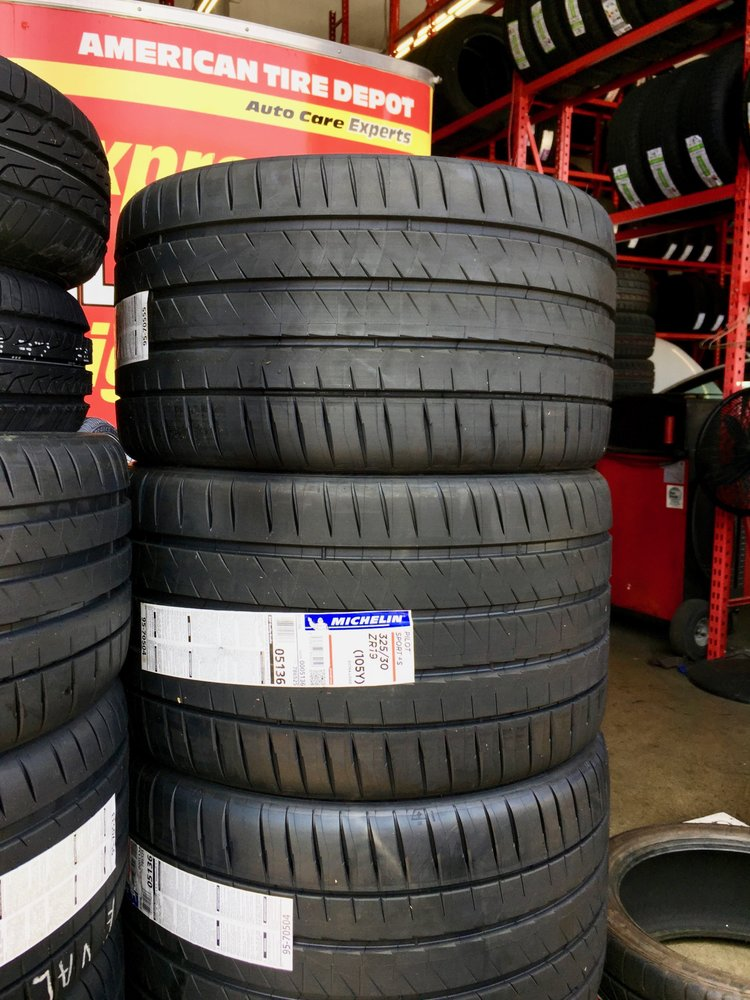 American Tire Depot >> Michelin Pilot Sport 4S 305/30/19 and 325/30/19 just got delivered to American Tire Depot ...