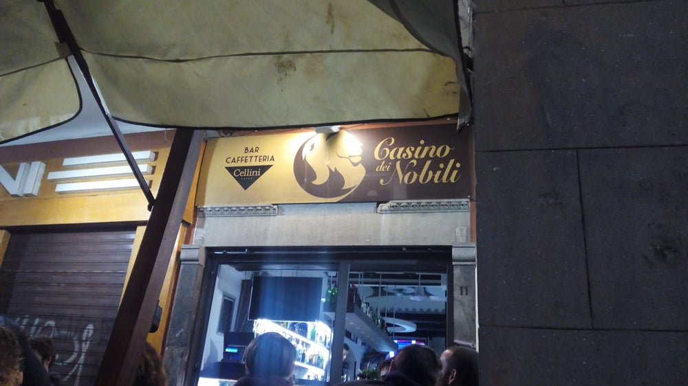 Casino Dei Nobili Bars Borgo Stretto 13 Pisa Italy