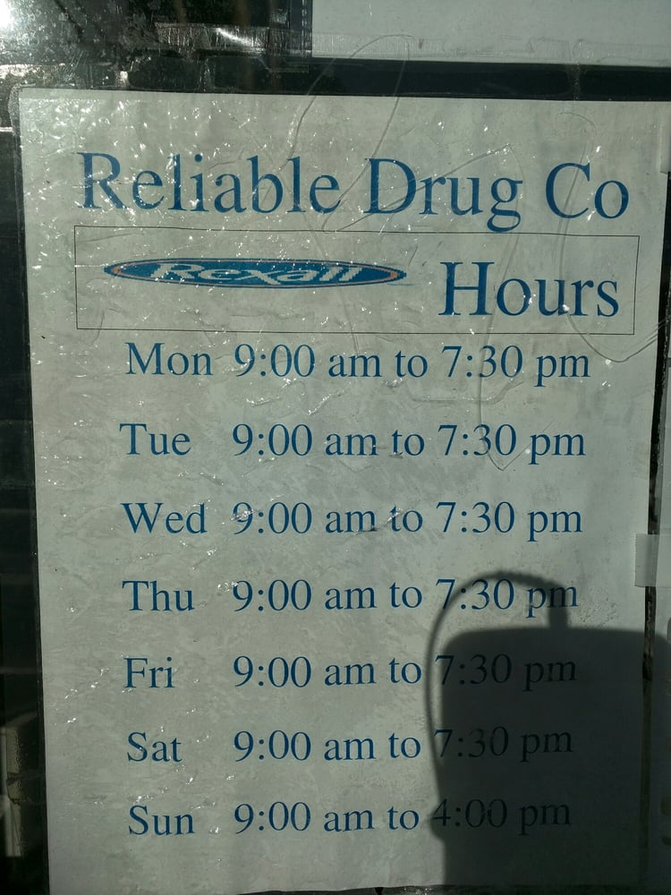 Reliable Rexall-A Compounding Pharmacy - CLOSED - 45 Reviews