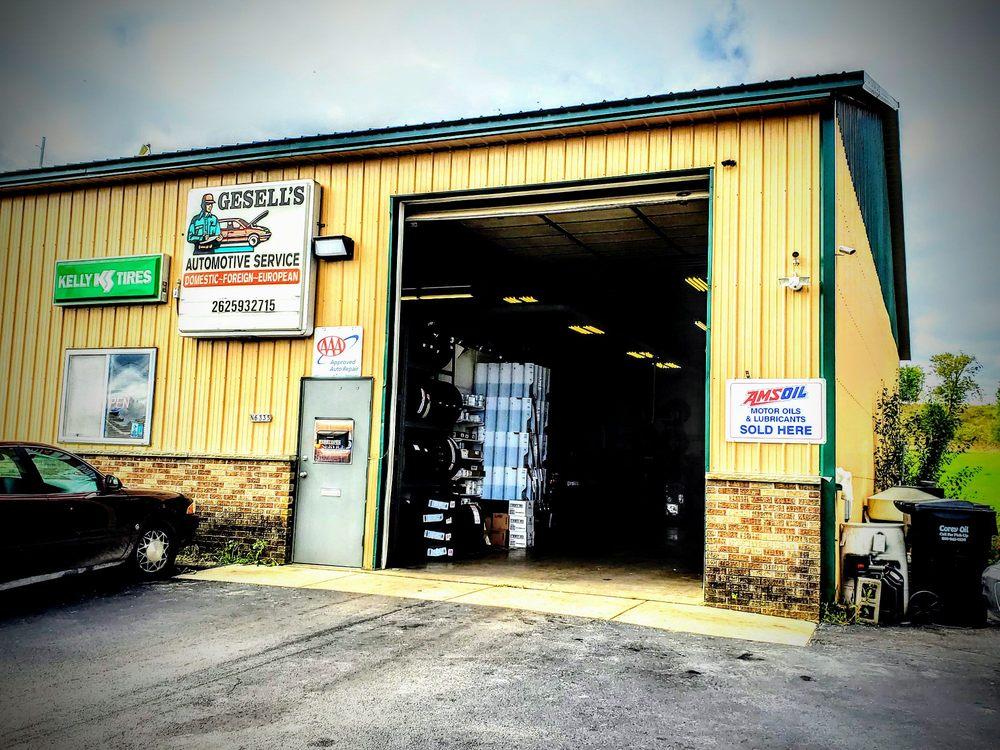Gesell's Automotive Service Inc: N6335 County Road F, Oconomowoc, WI