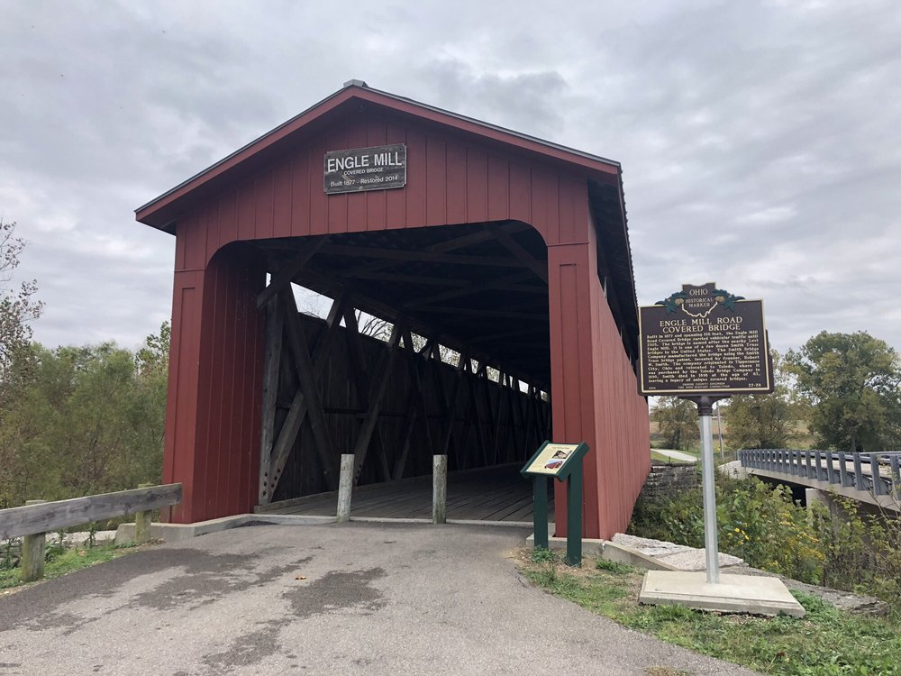 Engle Mill Covered Bridge: 3420 Engle Mill Rd, Xenia, OH