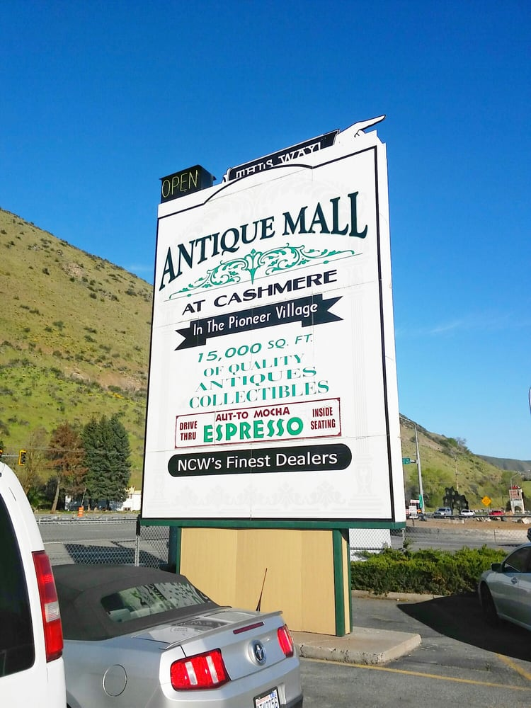 Antique Mall at Cashmere: 603 Cotlets Way, Cashmere, WA