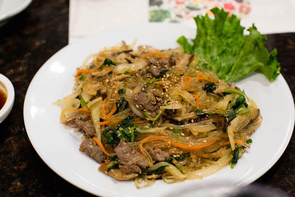 Food from Kaya BBQ & Tofu