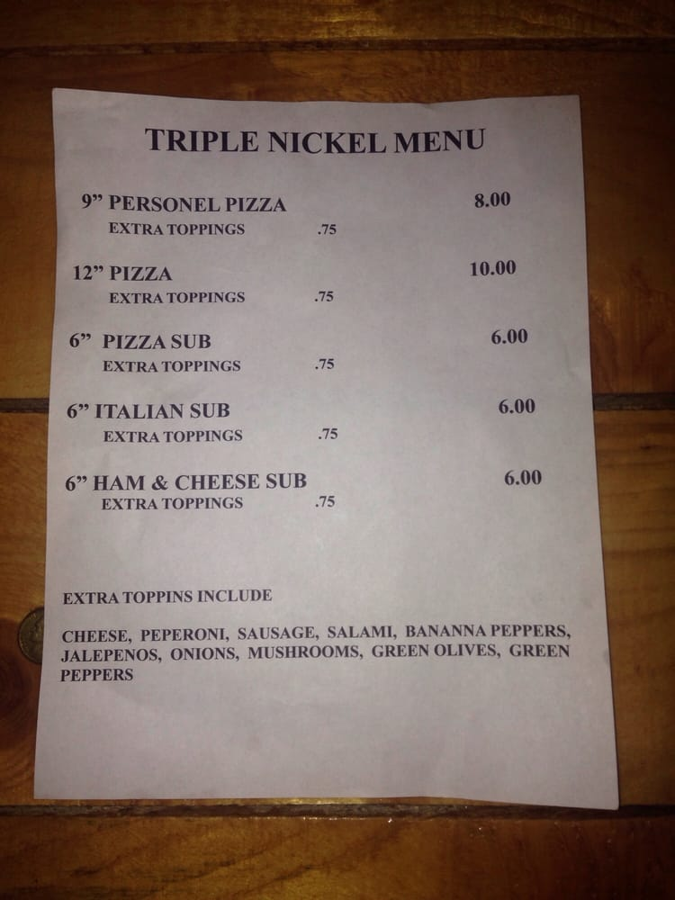 Triple Nickel: 2590 Old River rd, Zanesville, OH