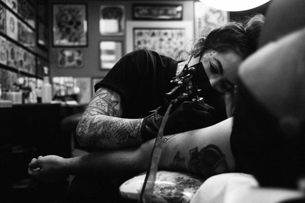 Rose & Anchor Tattoo: 930 S Mason Rd, Katy, TX