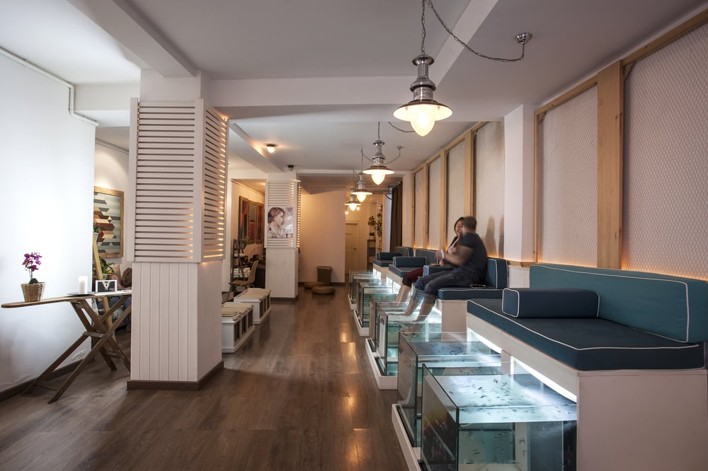 Photos for aquabliss fish spa yelp for Fish spa near me
