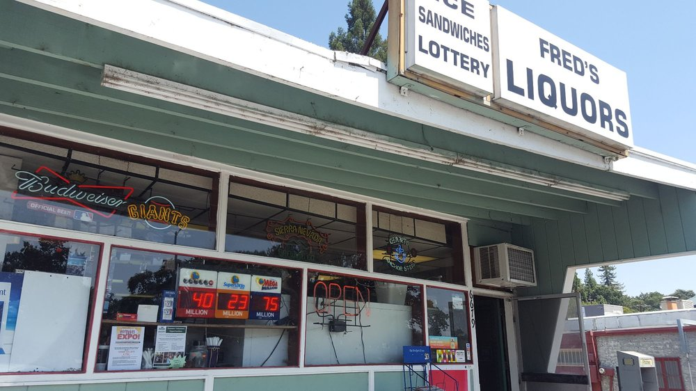 Fred's Liquor: 6679 Front St, Forestville, CA