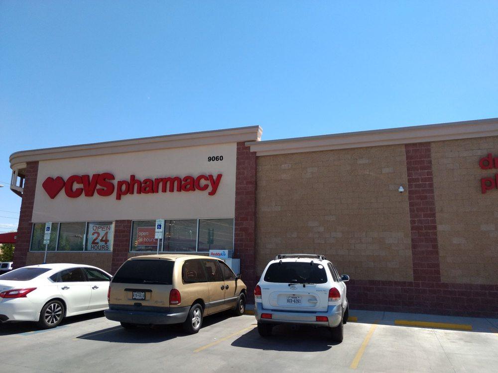 CVS Pharmacy: 9060 Dyer Street, El Paso, TX