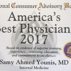 Samy A Younis, MD - 74 Reviews - Internal Medicine - 62 Corporate