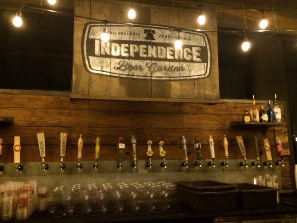 Walk up bar yelp Independence beer garden philadelphia pa