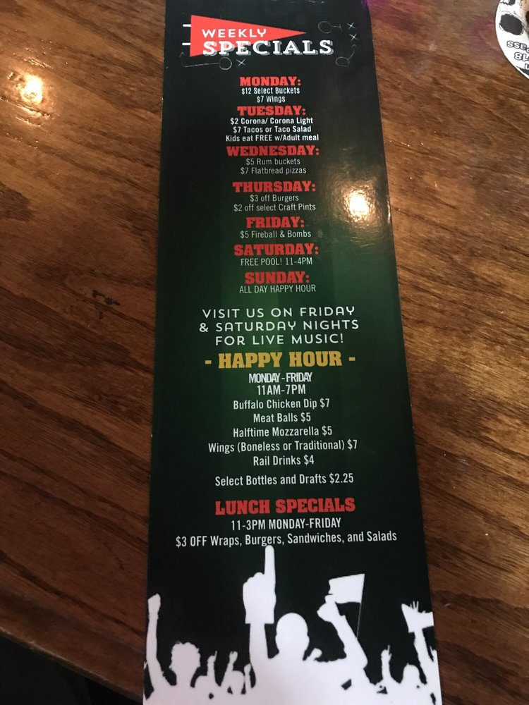 Sidelines Sports Bar &Grilll: 105 Chesapeake Ctr Ct, Glen Burnie, MD