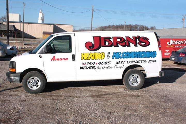 Jern's Heating & Air Conditioning: 643 E Mt Pleasant St, West Burlington, IA
